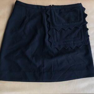 Victoria Beckham for Target black mini skirt sz M